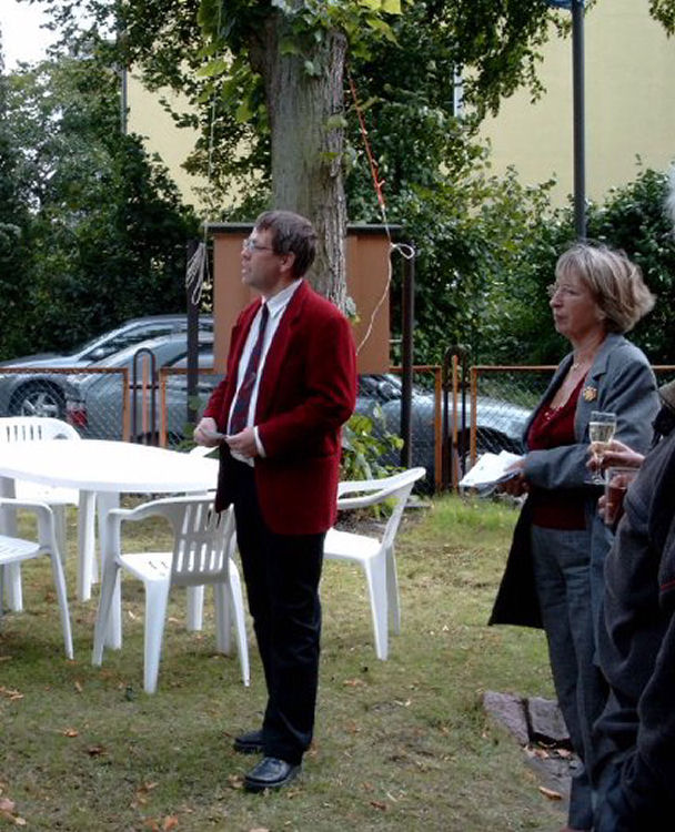 Tag des offenen Denkmals 2004, Rede Volker Landa