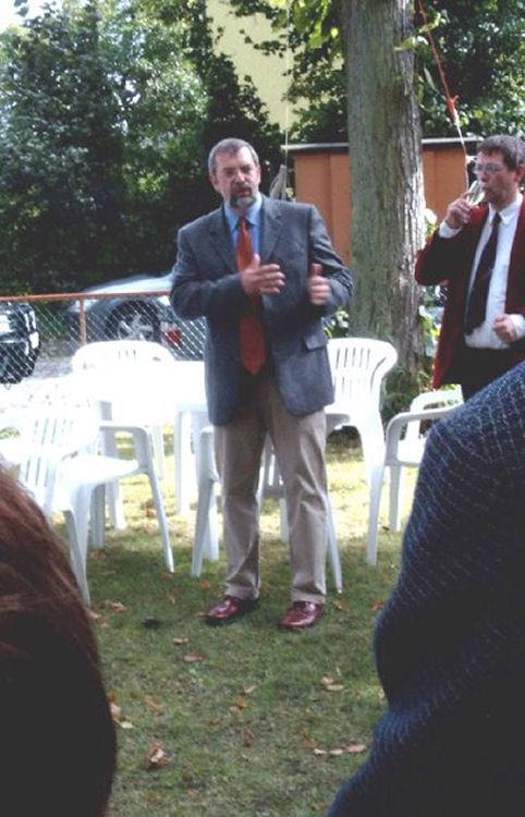 Tag des offenen Denkmals 2004, Rede Rolf Fischer
