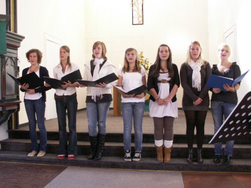 Jugendchor der Kirchengemeinde