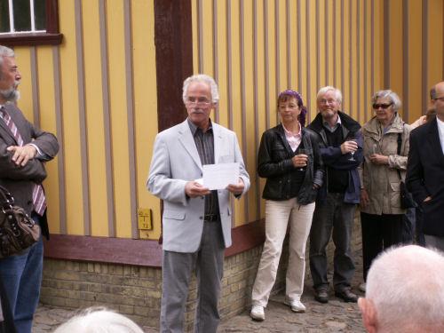 Carsten Thor-Straaten vom Männergesangverein