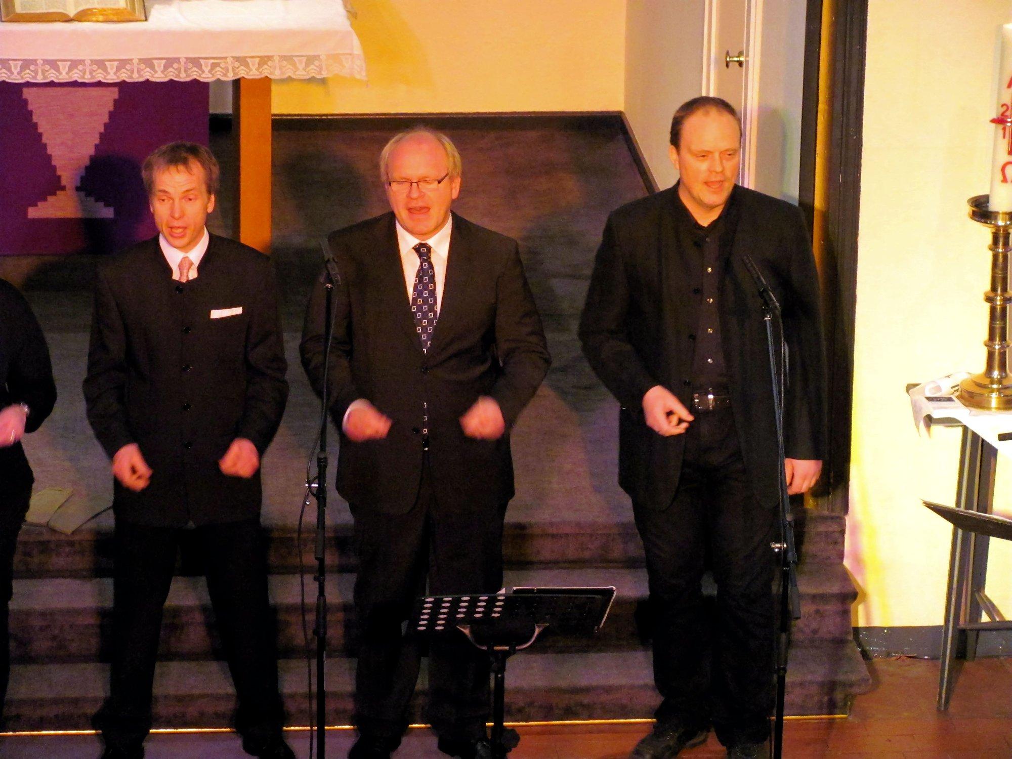 Thomas Pape, Carsten Vollbehr, Tim Strothmann