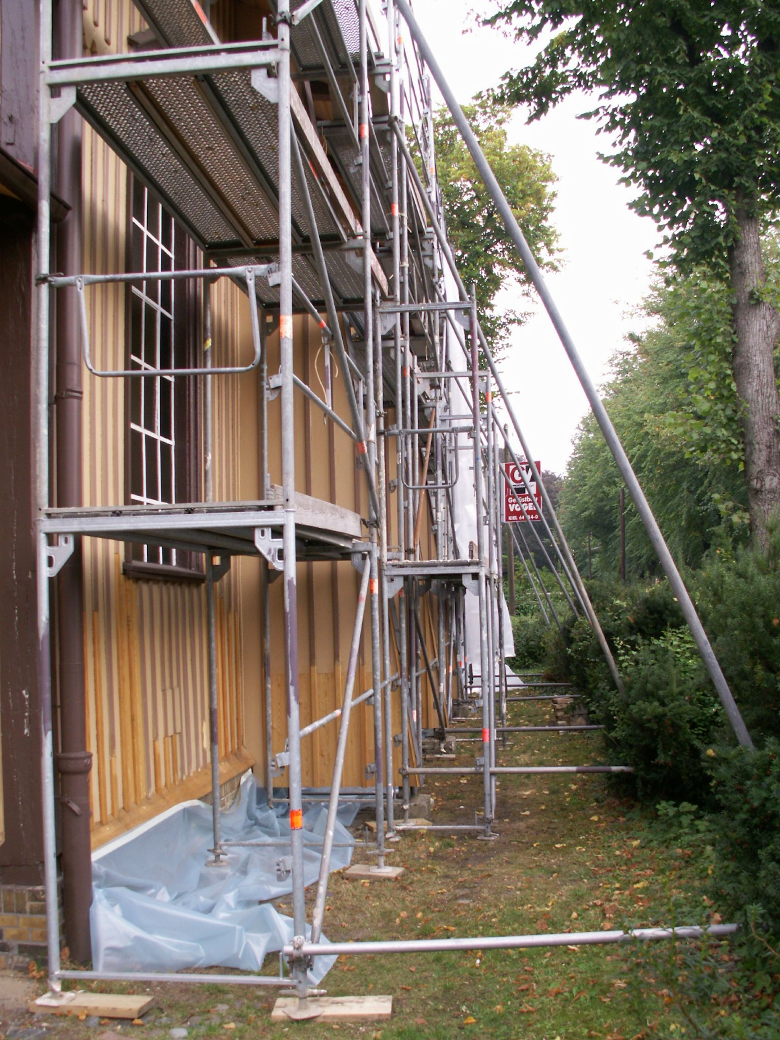 Renovierung Südfassade
