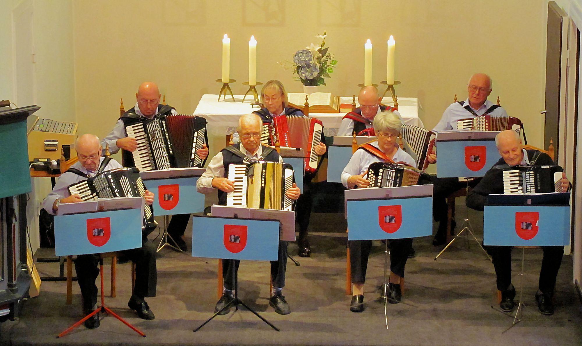 Harmonika Freunde Ostufer von 1962