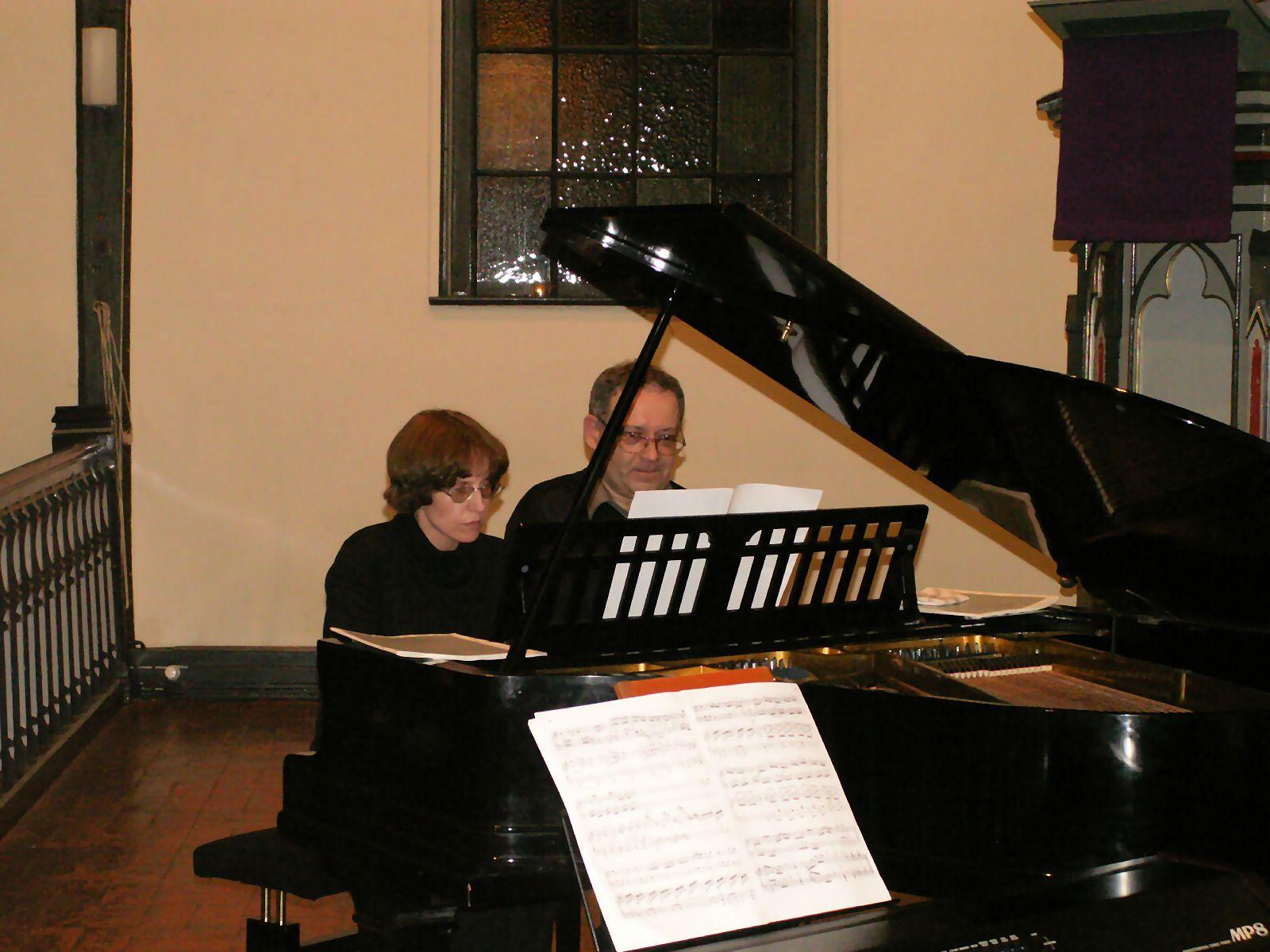 Irina Ignatova und Igor Vilenski