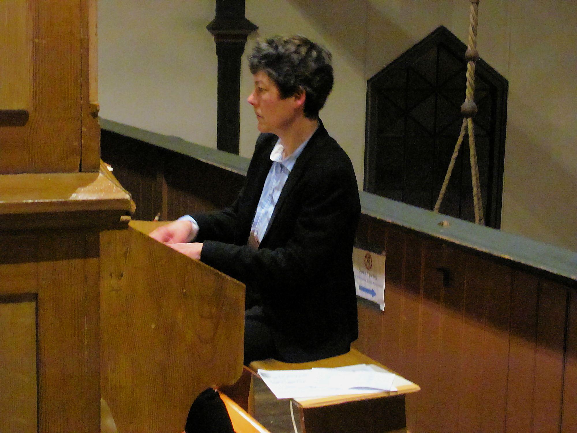 Ines Heuck (Orgel)