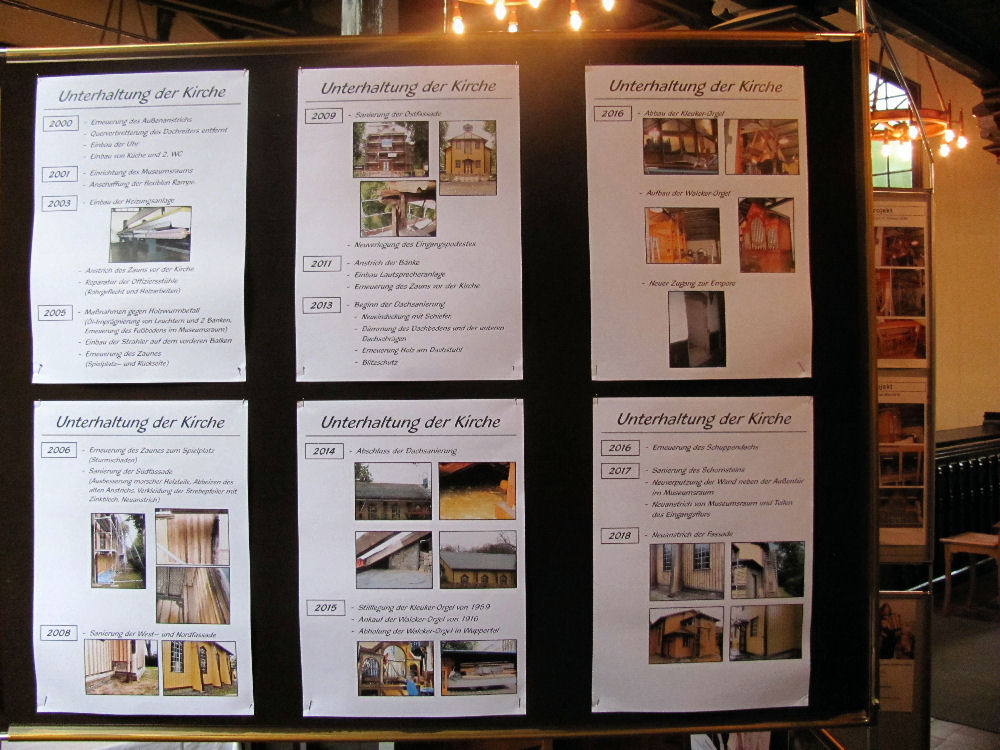 Ausstellung: 'Unterhaltung (in) der Kirche'