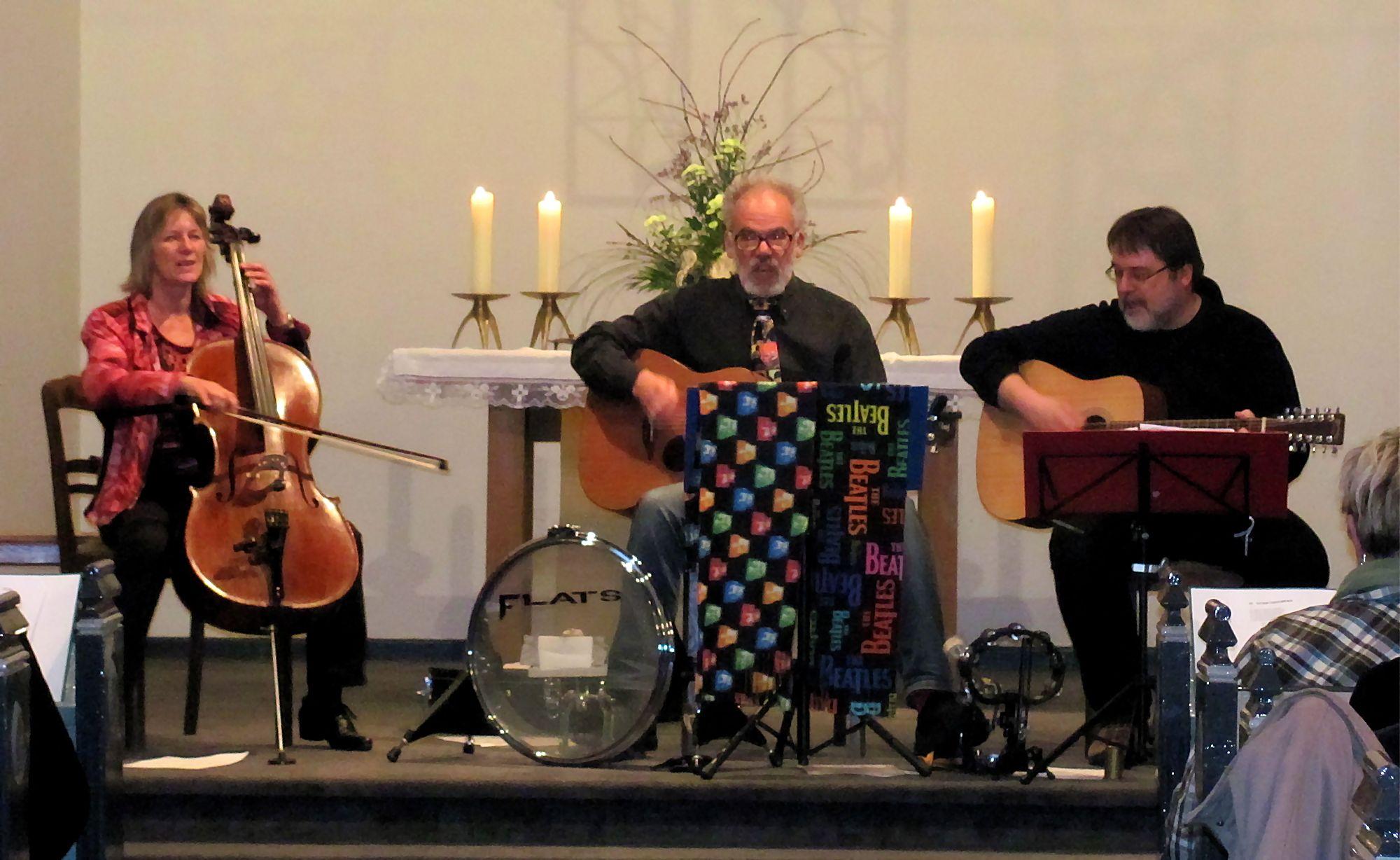 Die Begleitmusiker