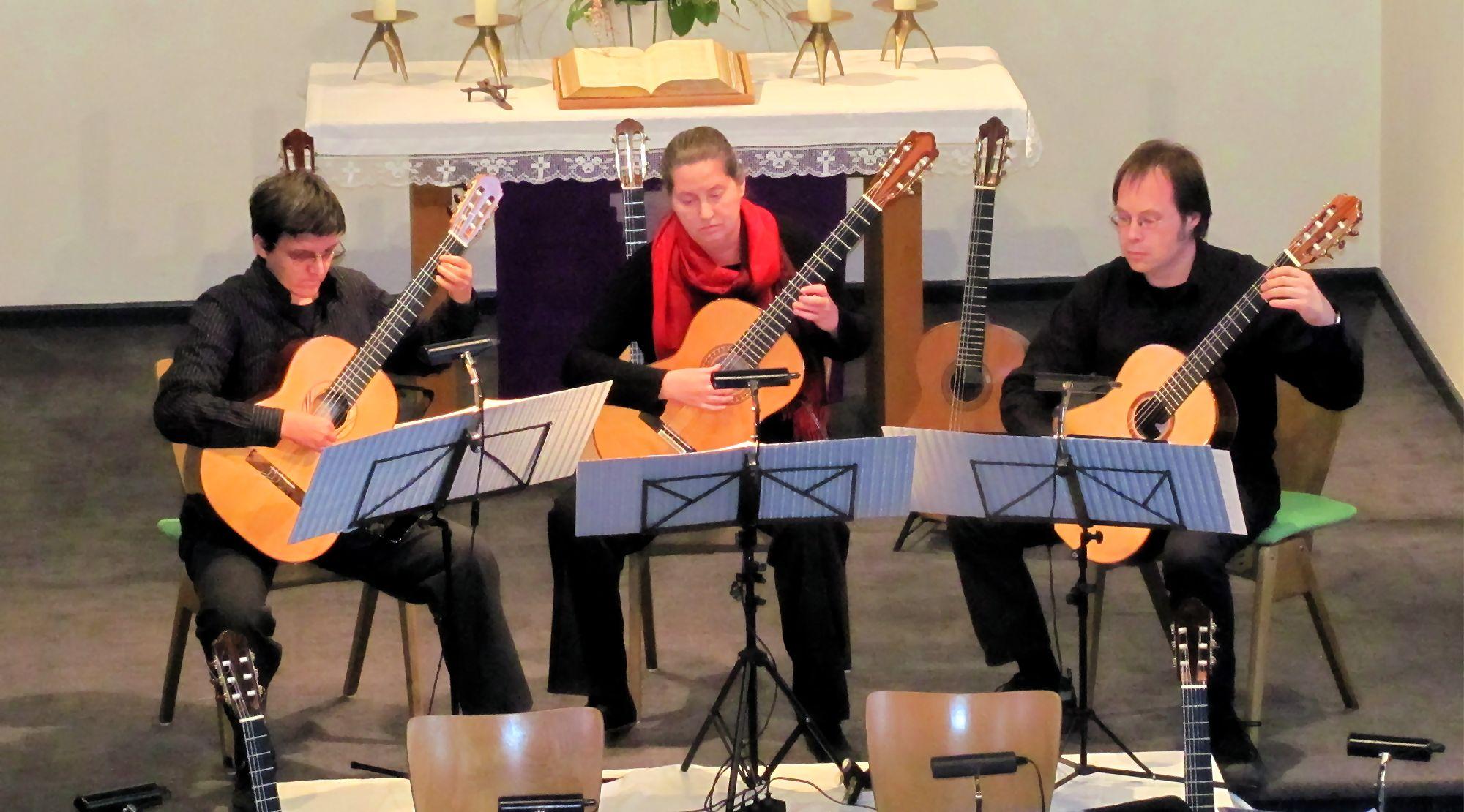 Gitarren-Trio 'Tea For Three'