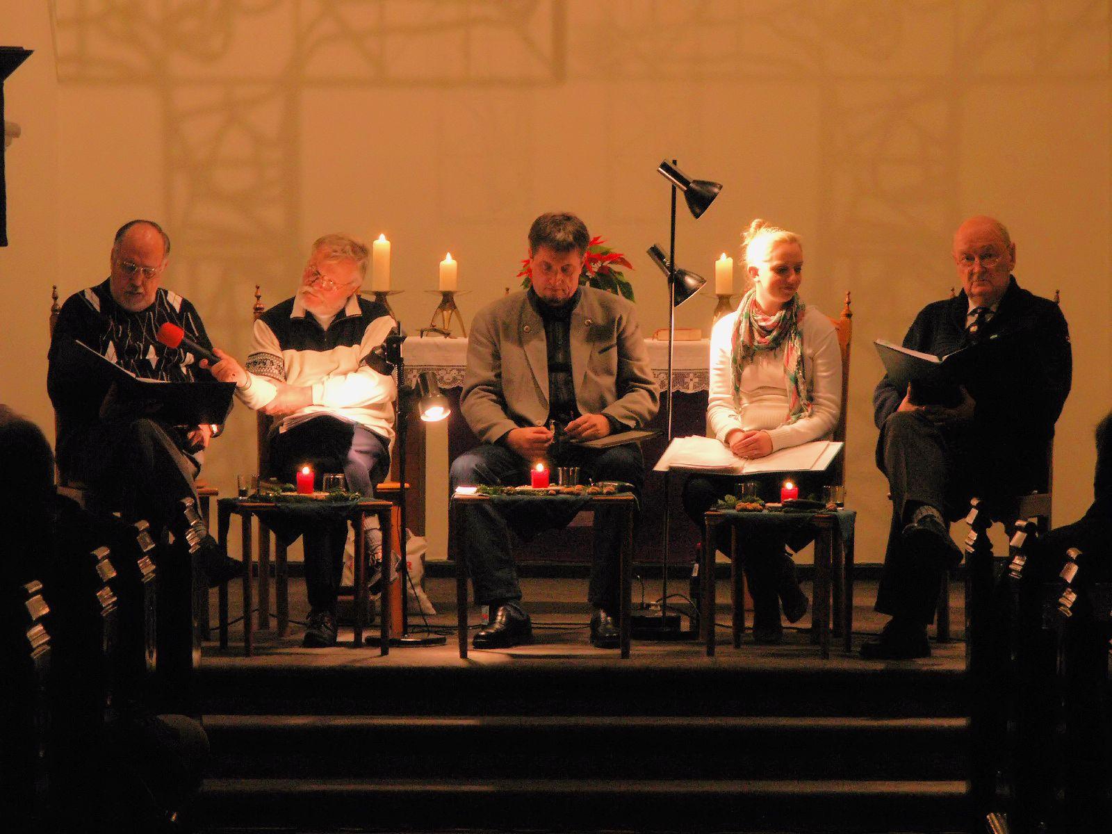 Lesung der Niederdeutschen Bühne Kiel