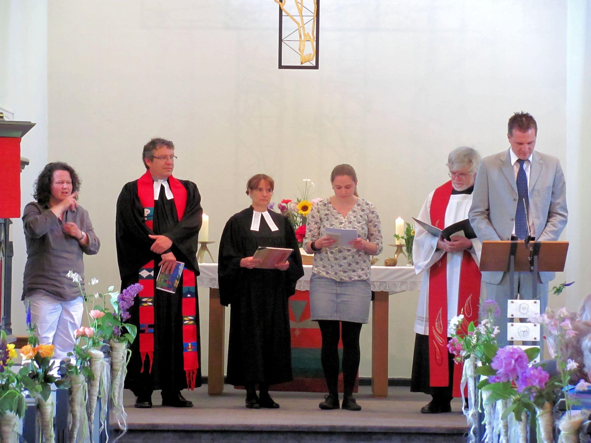 ökumenischer Pfingsgottesdienst