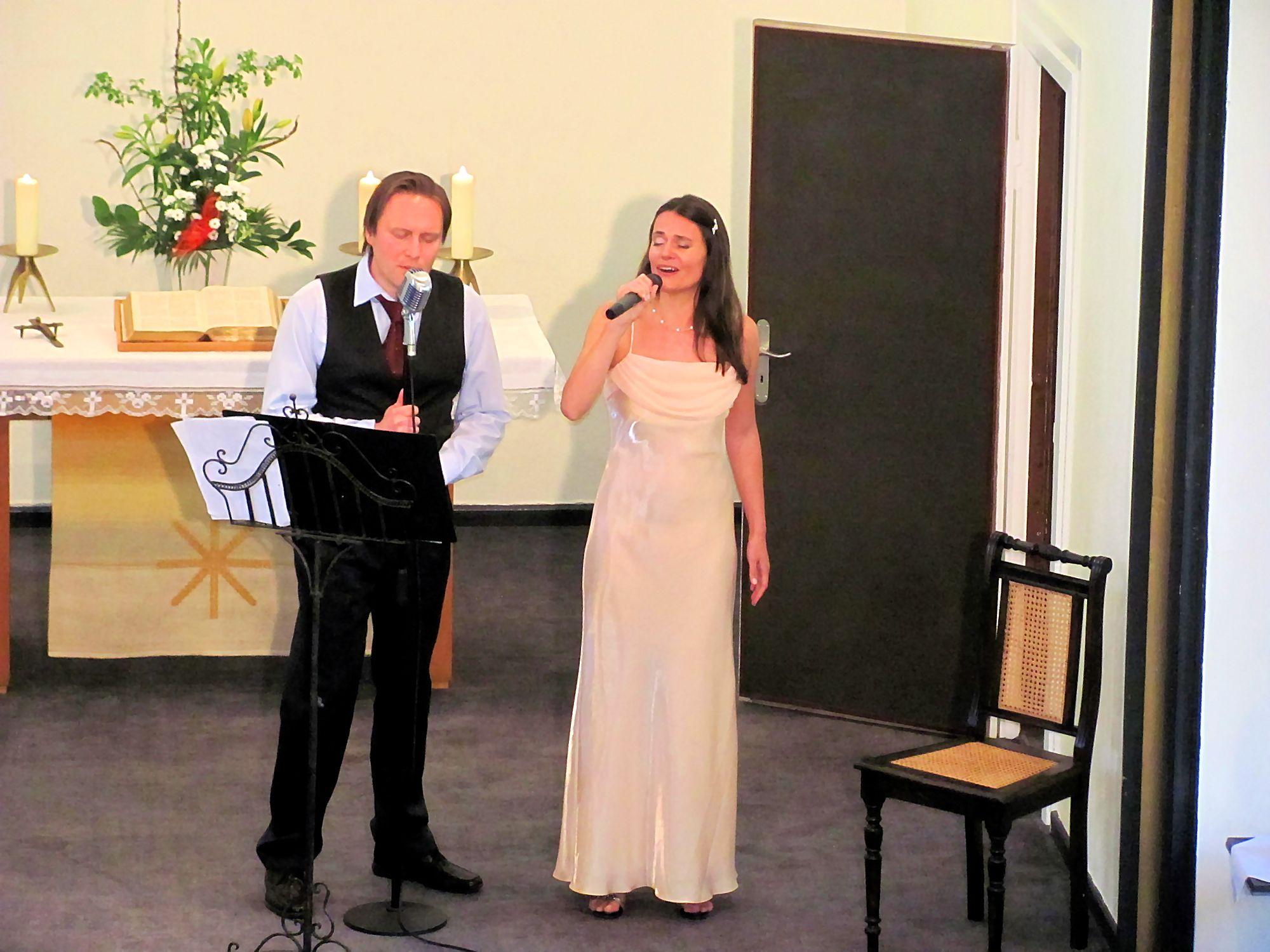 Sergej Rotach und Viola Schnittger