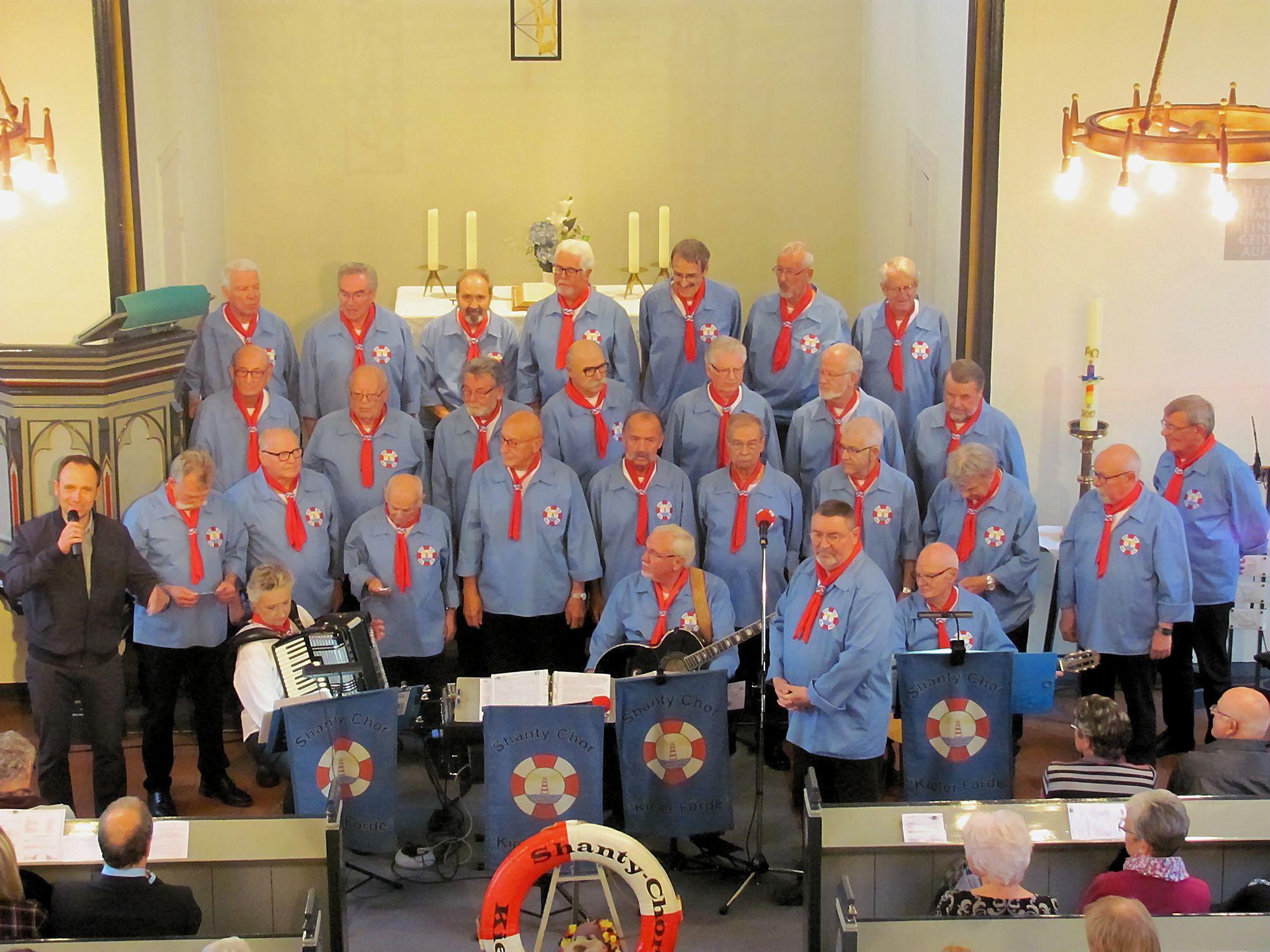 Shanty-Chor Kieler Förde, Begrüßung durch Jan Bastick