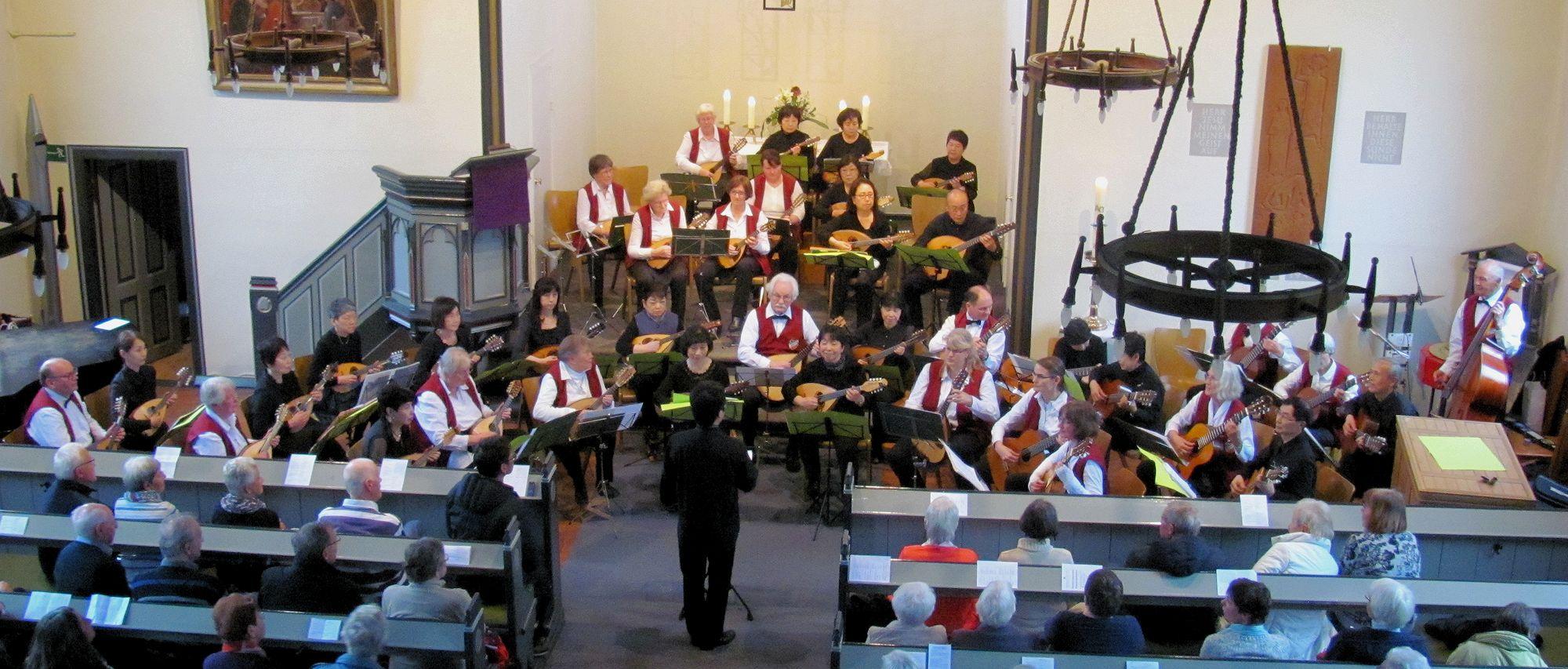 Mandolinenclub Ellerbek und Shizuoka Mandolin Society