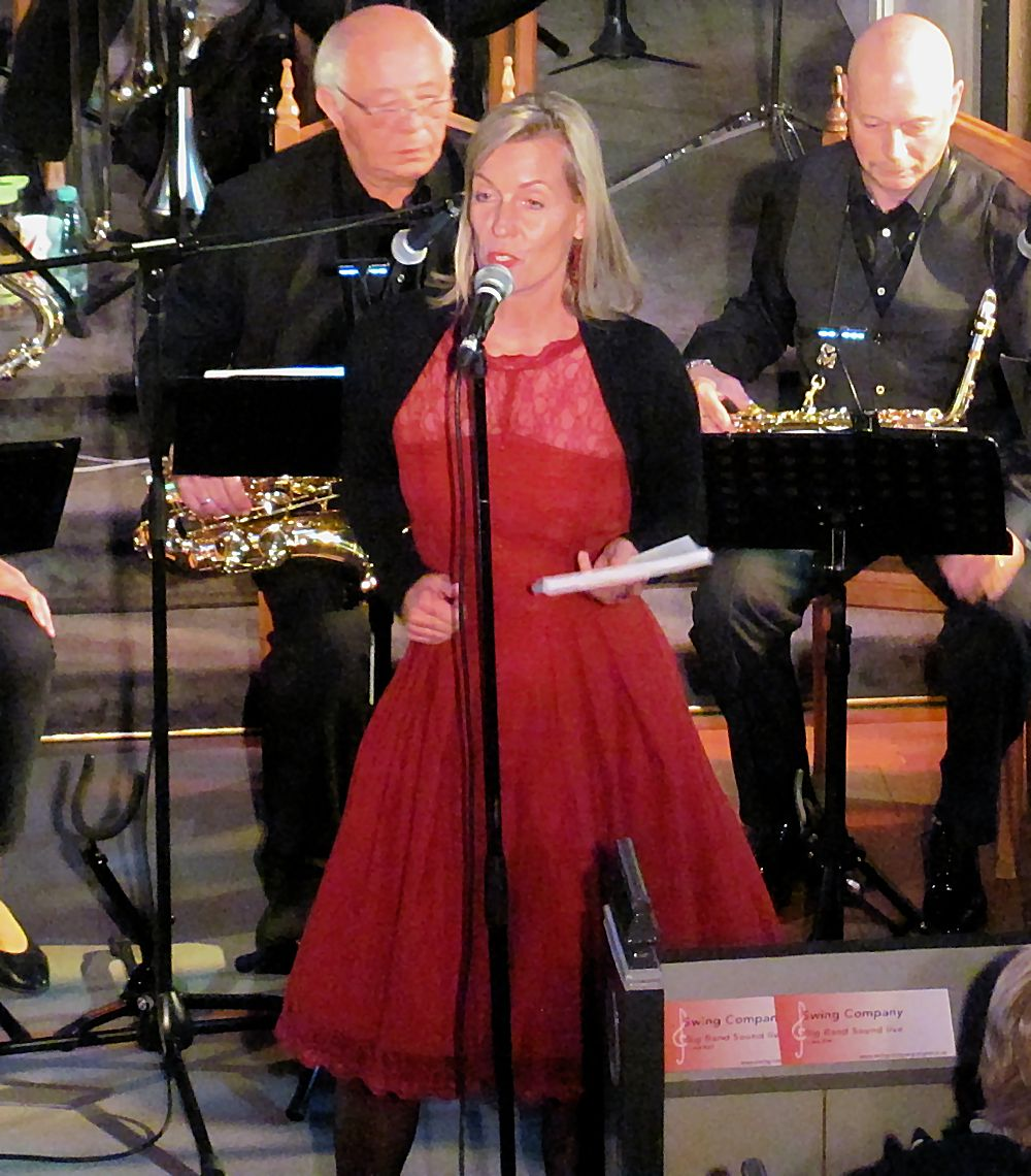 Gesang und Moderation: Susanna Trinkhaus