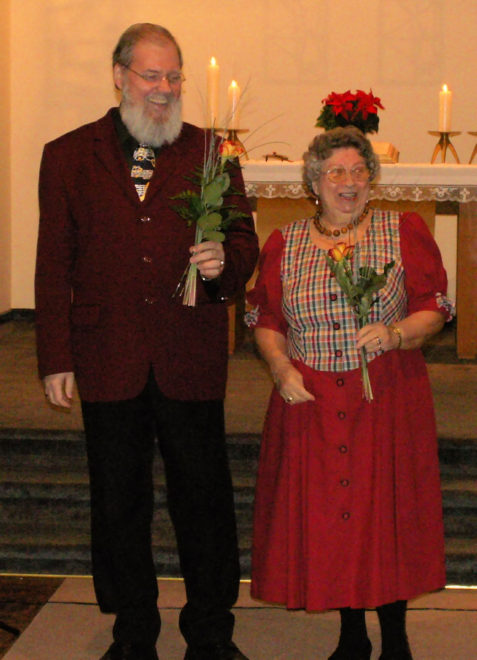 Dietmar Traber und Lisa Haas