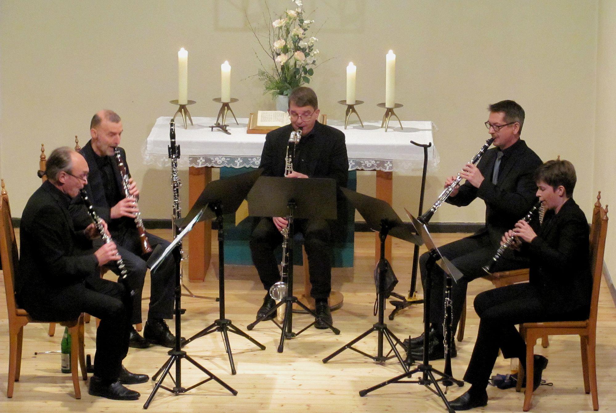 kwintetto clarinetti